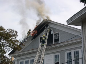 2009 Town Hall fire