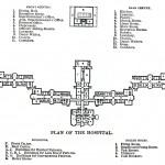"""Floor plan of the """"Kirkbride"""" building"""""""