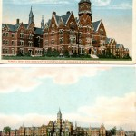 Postcard images of the hospital