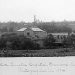 The farm complex in 1884