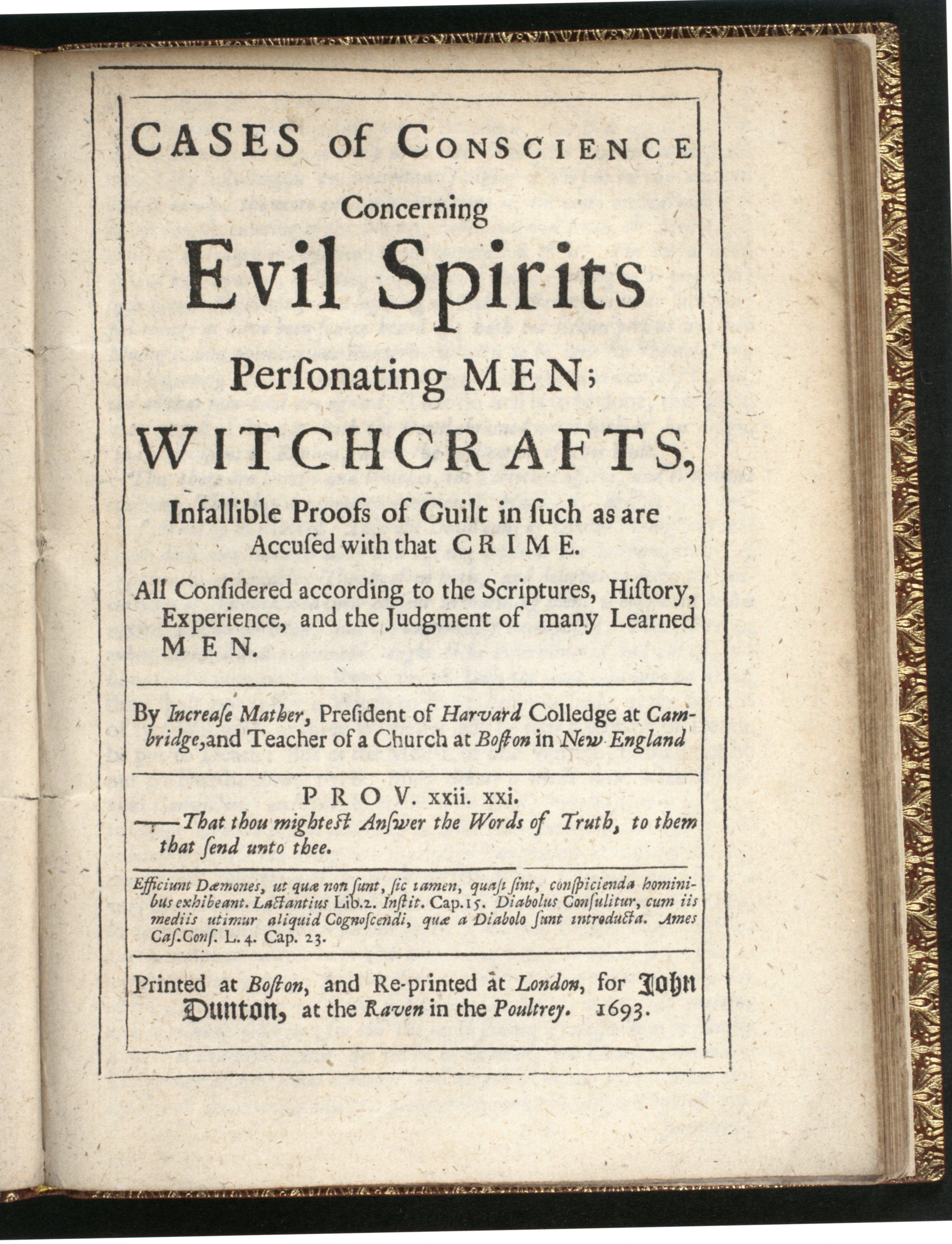 salem witch trials article