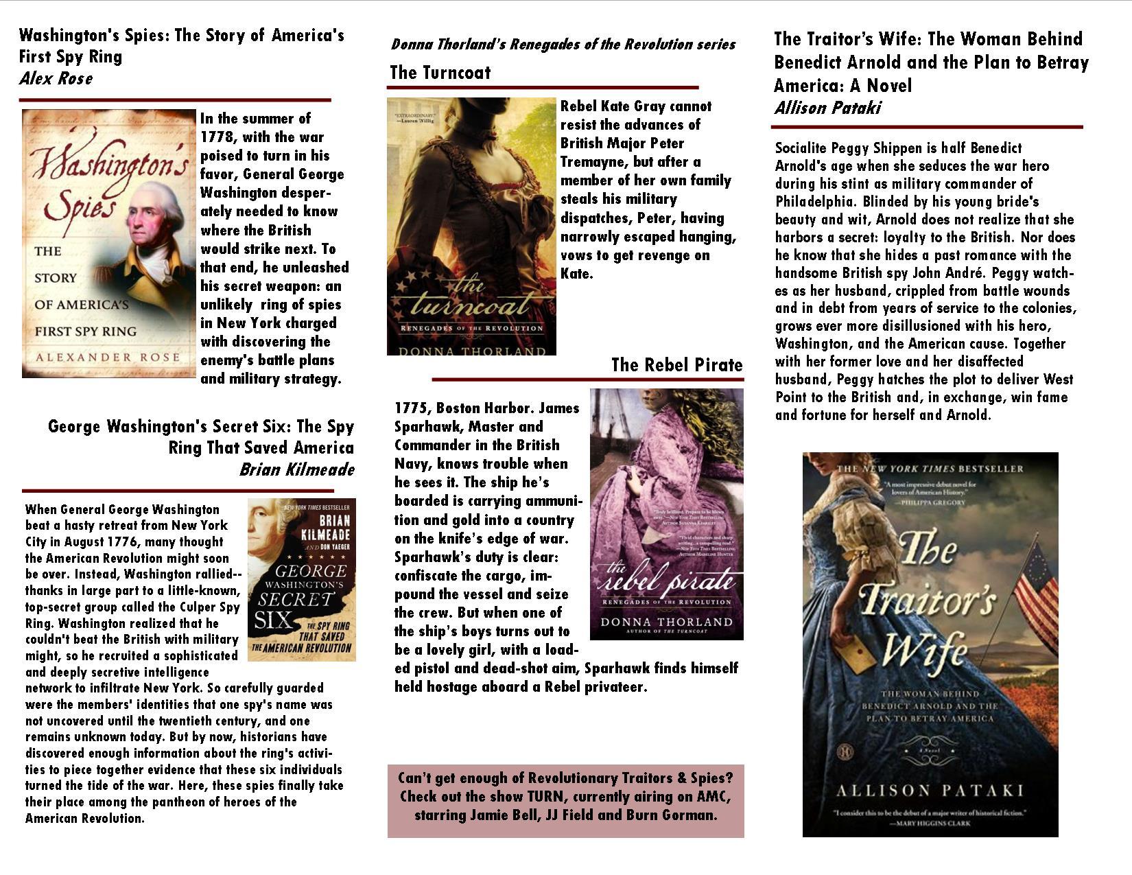 Revolutionary War Booklist